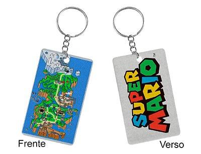 Chaveiro Super Mario