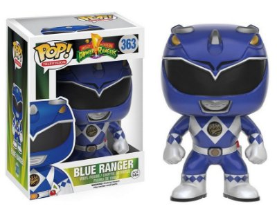 Funko Pop Televison Power Rangers Blue Ranger