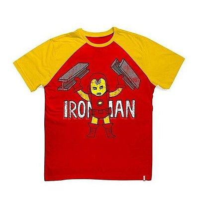 Camiseta Infantil Marvel Ironman