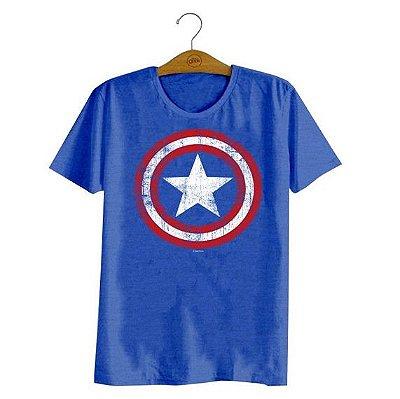 camiseta Marvel Capitão América tam M