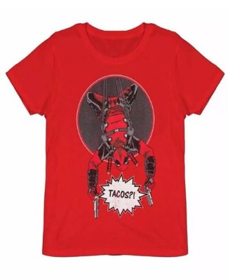 Camiseta Marvel DeadPool tam. G