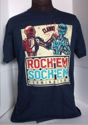 Camiseta Feminina Exterminador Do Futuro tam P