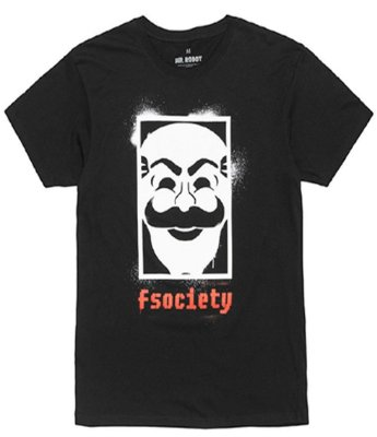 Camiseta Mr Robot GG