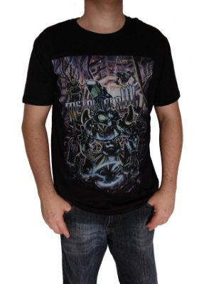 camiseta Metal Claw exclusiva