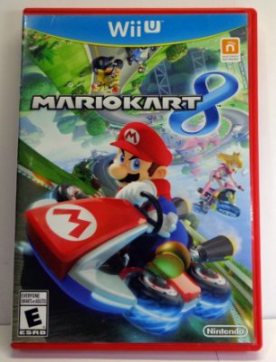 Mario Kart 8 Nintendo Wii U Midia Fisica Semi Novo