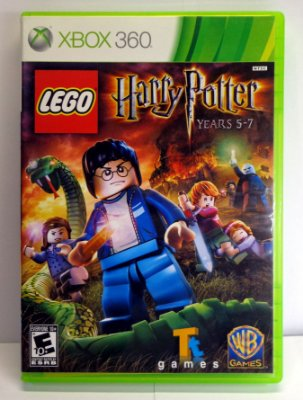 Xbox 360 Lego Harry Potter Years 5-7 Semi Novo Midia Física