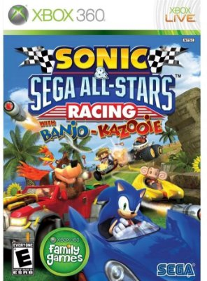 Sonic E Sega All Stars Racing With Banjo Kazooie Xbox 360