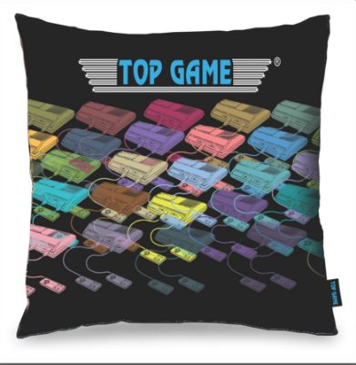 Almofada TOP GAME exclusiva 40 x 40