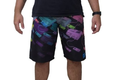 Bermuda Praia Masculina Top Game Exclusiva
