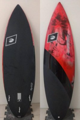 Prancha de Surf Pu/Poliéster Pigmentada obra de arte
