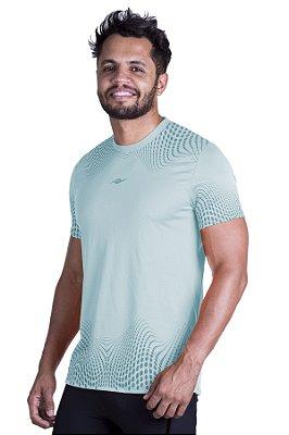 Camiseta de Corrida Km10 Sports Running Azul Suave