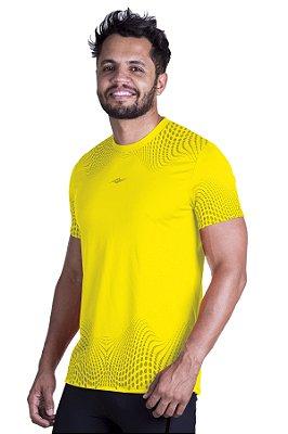 Camiseta de Corrida Km10 Sports Running Amarela