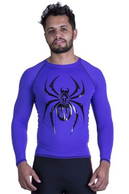 Rashguard Manga Longa Spider Black Widow