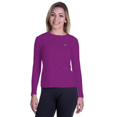 Camiseta Feminina Proteção UV Km10 Sports