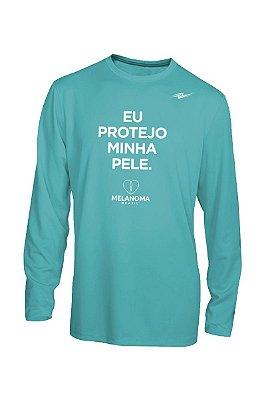 Camiseta Masculina Proteção UV Melanoma