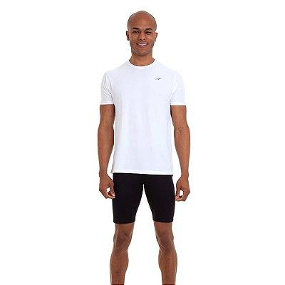 Camiseta Proteção UV50 Masculina White Km10 Sports