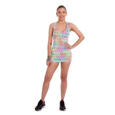 Vestido Short Fitness Km10 Sports