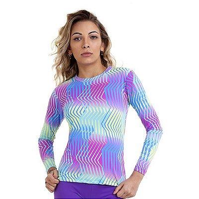Camiseta Proteção UV 50+ Eletric Km10 Sports
