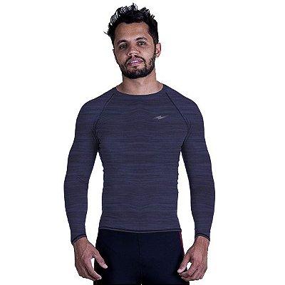 Camiseta de Compressão Mescla Km10 Sports
