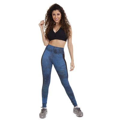Legging Feminina Estampa Jeans Km10 Sports