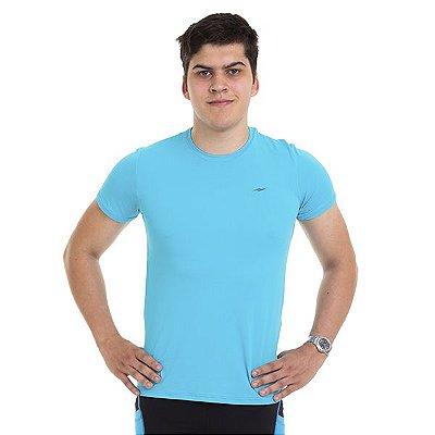 Camiseta Masculina Manga Curta Proteção UV50 Km10
