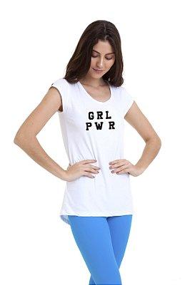Camiseta Feminina Km10 Sports Girl Power