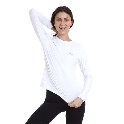 Camiseta Feminina Proteção UV50 Km10 Sports