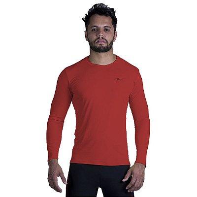 Camiseta Masculina Runner Manga Longa Km10
