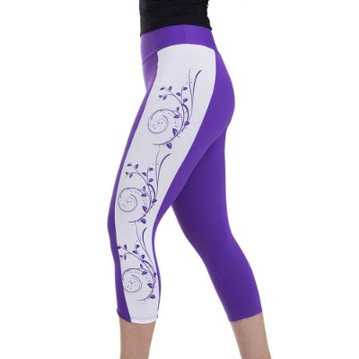 Legging Corsário Flowers Km10 Sports