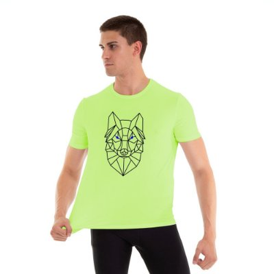 Camiseta Masculina Wolf Line Km10 Sports