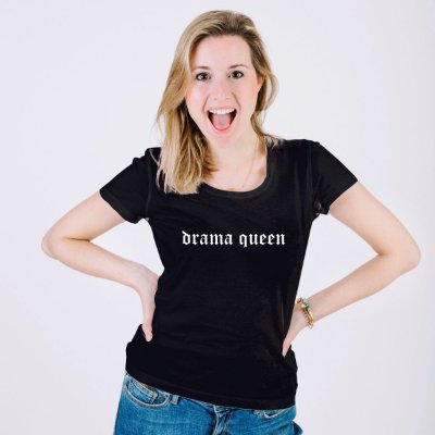 T-Shirt Feminina Drama Queen Km10 Sports