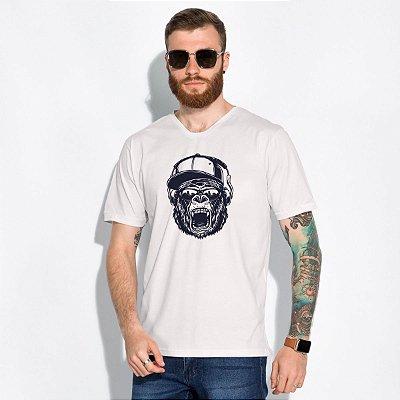 T-Shirt Masculina Hipster Km10 Sports