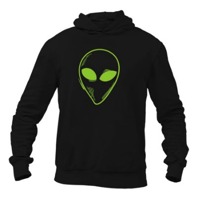 Moletom Unissex Alien Km10 Sports