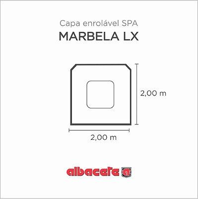 CapaSPA para banheira SPA Marbela LX Albacete