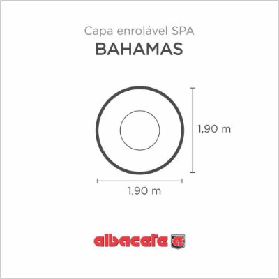 CapaSPA para banheira SPA Bahamas Albacete