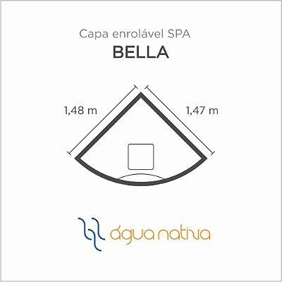 Capa Spa Enrolável Banheira Canto Bella Agua Nativa