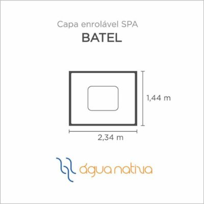 Capa Spa Enrolável Spa Batel Agua Nativa