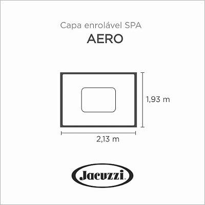Capa Spa Enrolável Spa Aero Jacuzzi