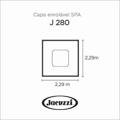 Capa Spa Enrolável Spa J 280 Jacuzzi
