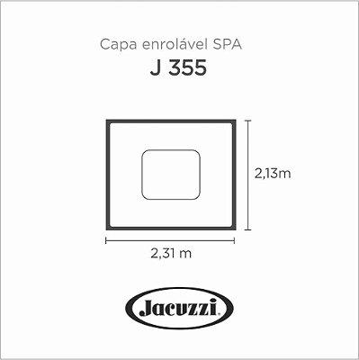 Capa Spa Enrolável Spa J 355 Jacuzzi