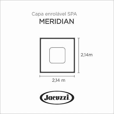 Capa Spa Enrolável Spa Meridian Jacuzzi
