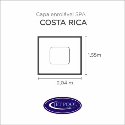 Capa Spa Enrolável Spa Costa Rica Jet Pool