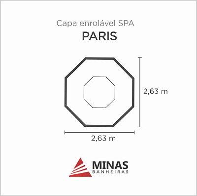 Capa Spa Enrolável Spa Paris Minas Banheiras