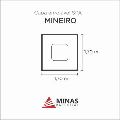 Capa Spa Enrolável Spa Mineiro Minas Banheiras