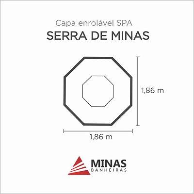 Capa Spa Enrolável Spa Serra De Minas Minas Banheiras