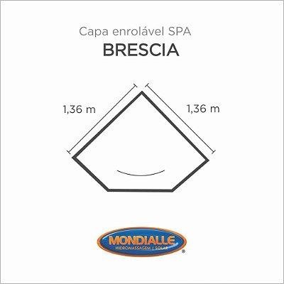 Capa Spa Enrolável Banheira Brescia Mondialle