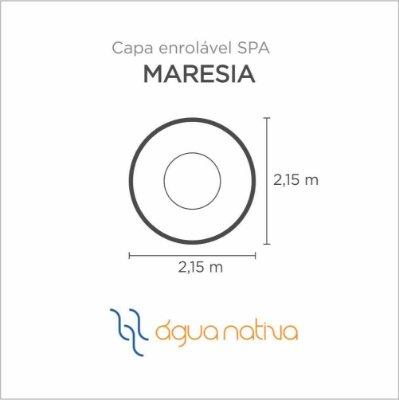 Capa Spa Enrolável Spa Maresia Agua Nativa