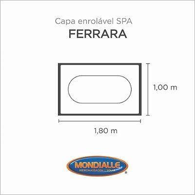 Capa Spa Enrolável Banheira Ferrara Mondialle