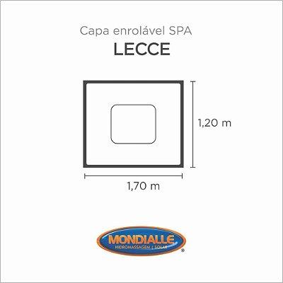 Capa Spa Enrolável Banheira Lecce  Mondialle