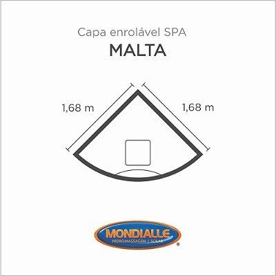 Capa Spa Enrolável Banheira Malta Mondialle